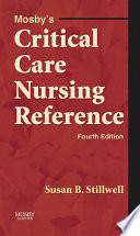 Mosby s Critical Care Nursing Reference   E Book