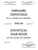 League of Nations Publications