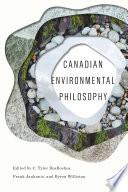 Canadian Environmental Philosophy Book