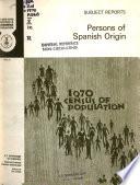 1970 Census of Population  National origin and language Book