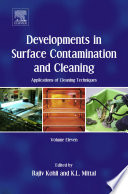 Developments in Surface Contamination and Cleaning: Applications of Cleaning Techniques