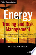 Energy Trading and Risk Management