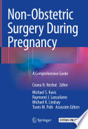 Non-Obstetric Surgery During Pregnancy