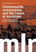 Marxist Left Review 21