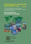International Sustainable Development Law - Volume I