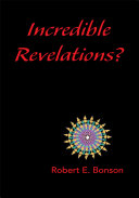 Incredible Revelations? Pdf/ePub eBook