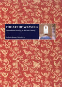 link to The art of weaving : Danish hand weaving in the 20th century in the TCC library catalog