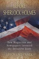 Before Sherlock Holmes