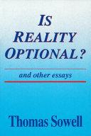 Is Reality Optional?