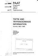 Tsetse and Trypanosomiasis Information