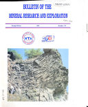 Bulletin of the Mineral Research and Exploration Institute of Turkey