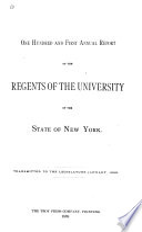 Report Of The Regents