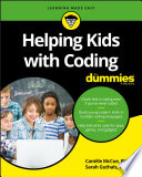 Helping Kids with Coding For Dummies Book PDF