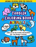 Toddler Coloring Books Animals