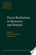 Focus Realization in Romance and Beyond