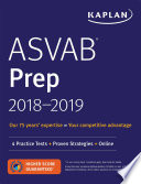 ASVAB Prep 2018-2019  : 4 Practice Tests + Proven Strategies + Online
