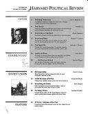 Harvard Political Review