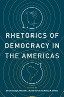 Rhetorics of Democracy in the Americas Pdf/ePub eBook