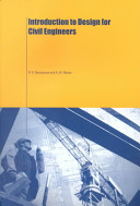 Cover of Introduction to Design for Civil Engineers
