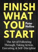 Finish What You Start Pdf/ePub eBook