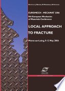 Local Approach to Fracture