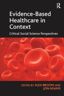 Cover of Evidence-Based Healthcare in Context