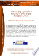 The Changing Dynamics Of Security In An Enlarged European Union