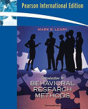Cover of Introduction to Behavioral Research Methods