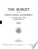 The Budget Of The United States Government