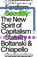 Pdf The New Spirit of Capitalism Telecharger