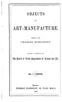Objects in Art manufacture