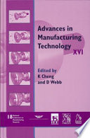 Advances in Manufacturing Technology XVI   NCMR 2002
