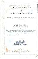 The Queen Vs  Louis Riel