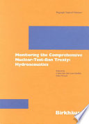 Monitoring the Comprehensive Nuclear-Test-Ban Treaty