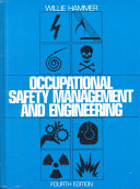 Cover of Occupational Safety Management and Engineering