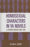 Homosexual Characters in YA Novels Book