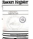Missouri Register