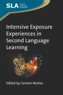 Intensive Exposure Experiences in Second Language Learning Pdf/ePub eBook