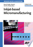 Inkjet Based Micromanufacturing Book PDF