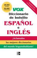 VOX Diccionario de bolsillo espa  ol y ingl  s Book PDF
