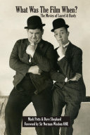 Pdf What Was The Film When? The Movies of Laurel and Hardy