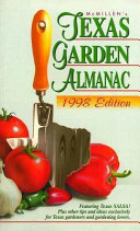 McMillen's Texas Garden Almanac 1998 Edition