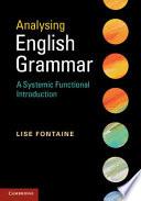 Analysing English Grammar