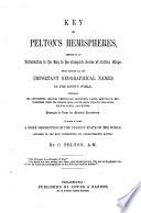 Key to Pelton s Hemispheres