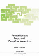 Recognition and response in plant virus interactions Book