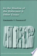 In the Shadow of the Holocaust   Other Essays