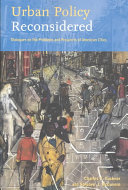 Urban Policy Reconsidered: Dialogues on the Problems and Prospects ...