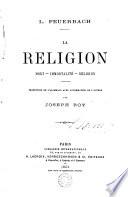 La religion; mort-immortalité-religion