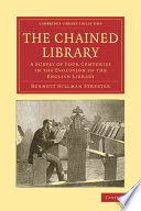 Read Online The Chained Library For Free