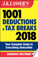 J K Lasser S 1001 Deductions And Tax Breaks 2018